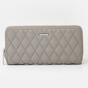 Quilted Faux leather Wallet